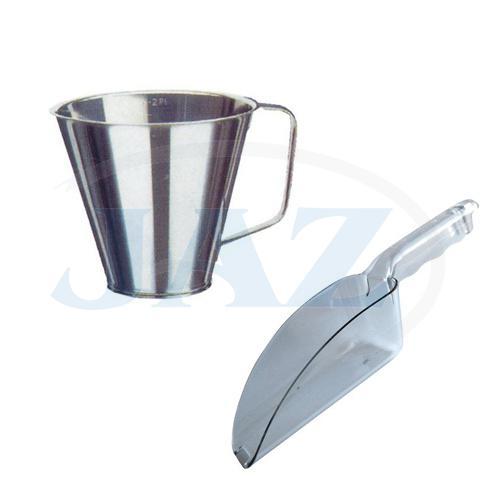 Lopatky, odmerné nádoby