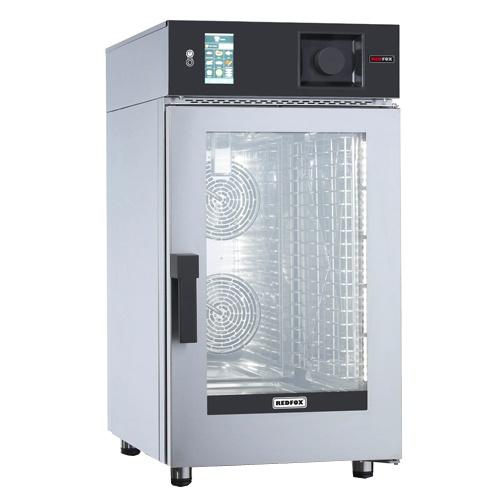 REDFOX Kompaktný konvektomat elektrický  10xGN1/1, nástrekový, programovateľný