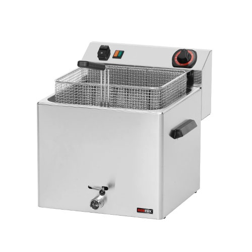 Fritéza elektrická 11 l, 400V, FE-10T