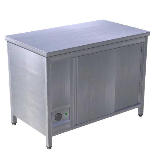 Stôl ohrievací na taniere - režón 1200mm, EOS