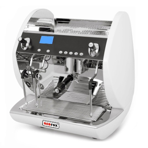 Kávovar 1 páka, Turbo steamer, 100káv/h-Carat Mini-1P/TS/WH