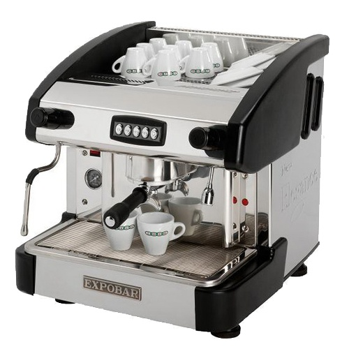 Kávovar 1 páka, 100káv/h-EMC-1P/B