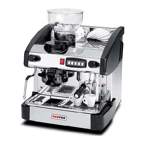 Kávovar 1 páka, mlynček, 100káv/h-EMC-1P/B/M