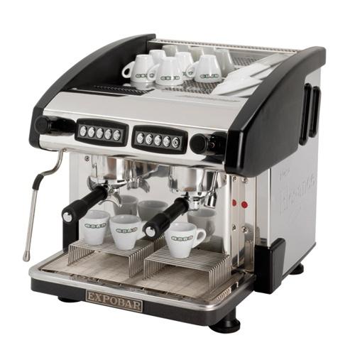 Kávovar 2 páky, 200káv/h, vysoký-EMC-2P/B/H