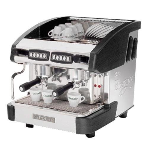 Kávovar 2 páky, 200káv/h-EMC-2P/B