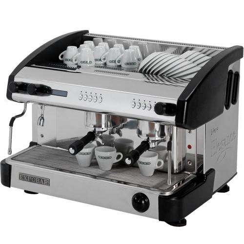 Kávovar 2 páky, 200káv/h-EC-2P/B/D