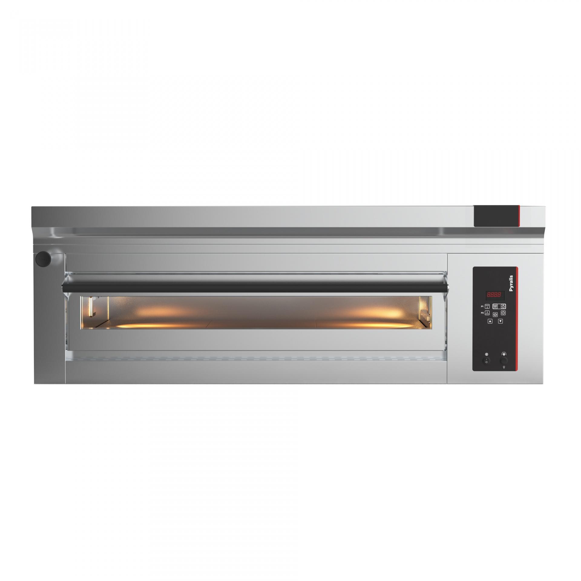 Elektrická pizza pec 1x6, celošamot., el. programovateľná D6-PYRALIS-FRC