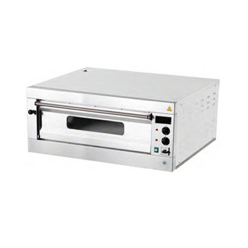 Elektrická  Pizza pec 1x4, celošamotová, digitálny teplomer P4