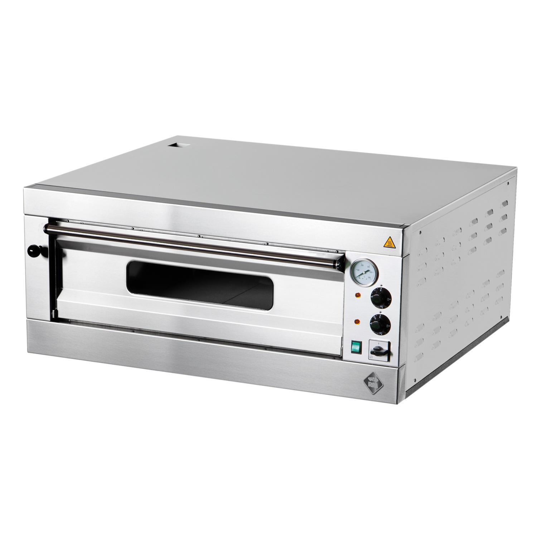 Elektrická  Pizza pec  1x6, celošamotová , digitálny  teplomer P6