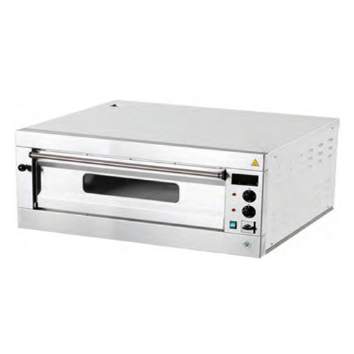 Elektrická  Pizza pec 1x6, celošamotová, digitálny teplomer B6L