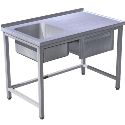 Stôl umývací so zásuvkou, USN-1z