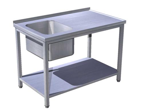 Stôl umývací s policou, USN-1p