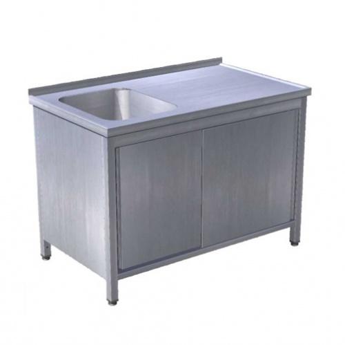 Stôl umývací s posuvnými dverami, USN-1pd