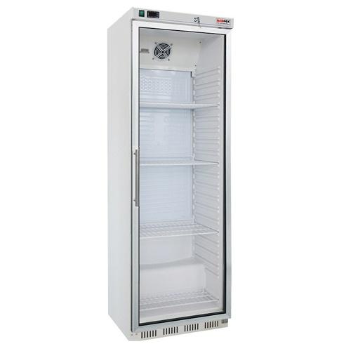 Chladnička biela presklená ventilovaná 400 l