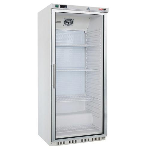 Chladnička biela presklená ventilovaná 600 l