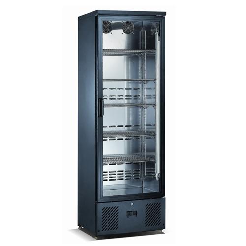 Chladnička čierna preskl. ventil. 292 l, SGD-300
