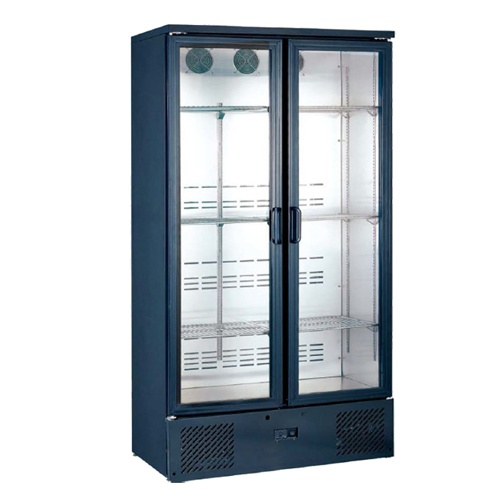 Chladnička dvojdverová preskl. ventil. 500 l, SGD-500