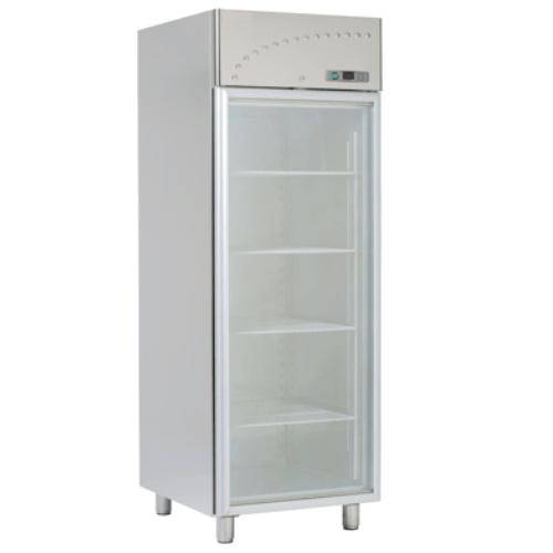 Chladnička nerez. presklená ventil. 700 l, LS-70SV