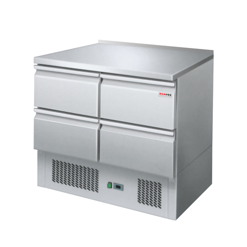 Stôl chladiaci, 4 x zásuvka-SZ-902