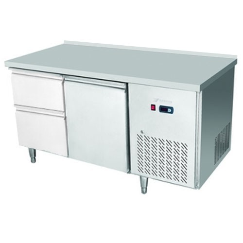 Stôl chladiaci, 1 x dvere, 2 x zásuvka-CNT-2D-1D2Z/EPF-2D-1D2Z