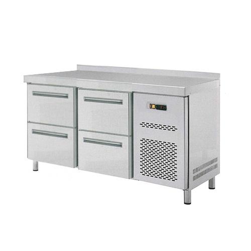 Stôl chladiaci, 4 x zásuvka-RT-2D-4Z