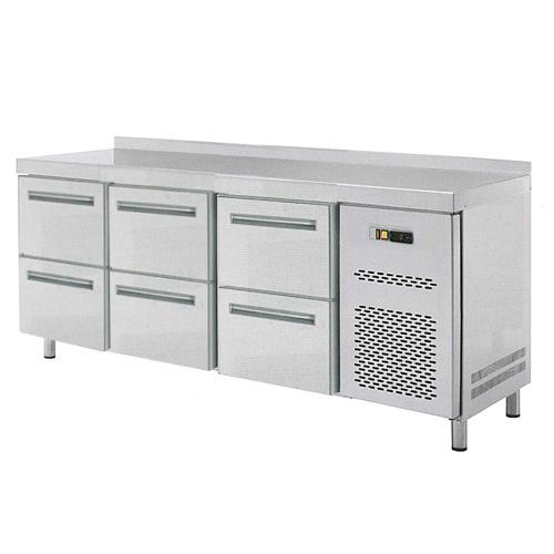 Stôl chladiaci 6x zásuvka-RT-3D-6Z