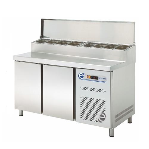 Stôl chladiaci snack, 2 x dvere-RTPZ-135D