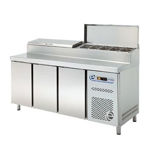 Stôl chladiaci snack, 3 x dvere-RTPZ-180D