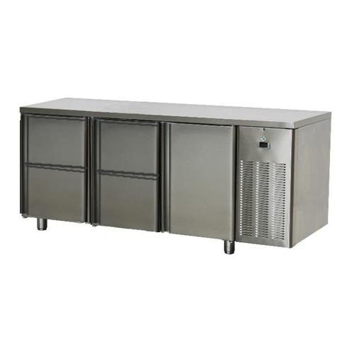Stôl chladiaci, 1 x dvere, 4 x zásuvka-SCH-3D-1D4Z