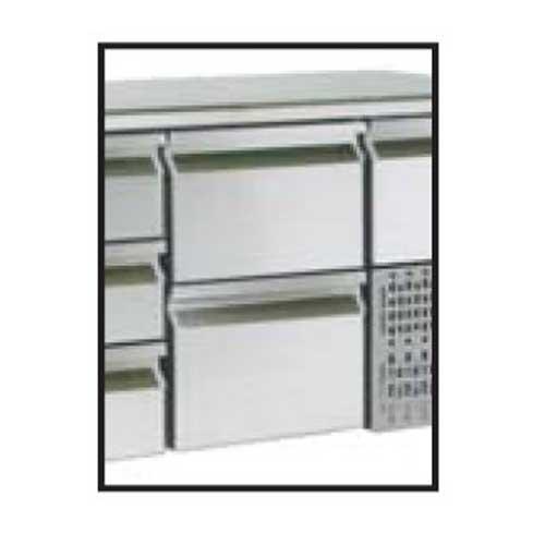 Zásuvkový set 2x1/2 k chladiacim stolom-ZS 1212 zásuvkový set
