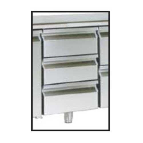 Zásuvkový set 3x1/3 k chladiacim stolom-ZS-131313
