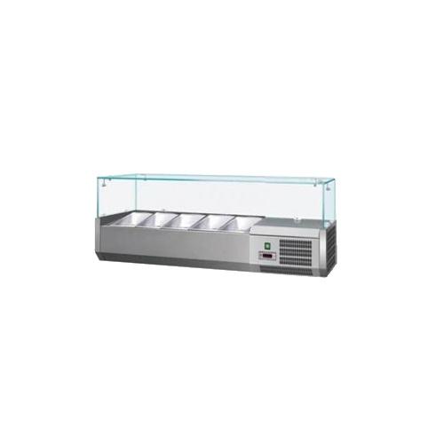 Vitrína chladiaca 5xGN1/4-VCH-4120