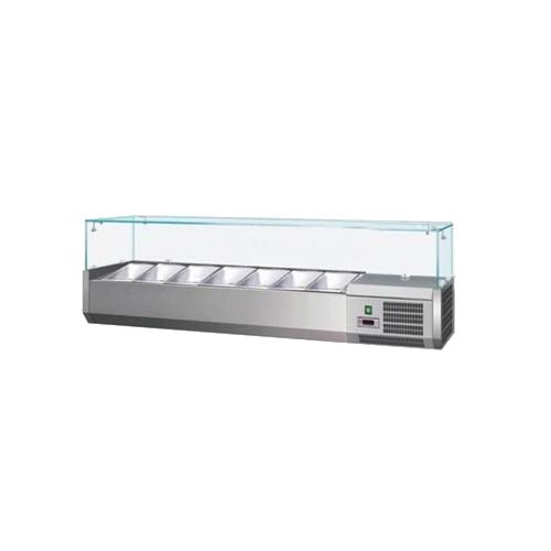 Vitrína chladiaca 7xGN1/4-VCH-4150