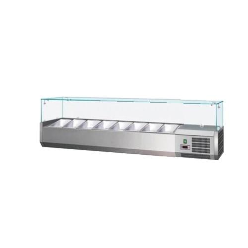Vitrína chladiaca 8xGN1/4-VCH-4180