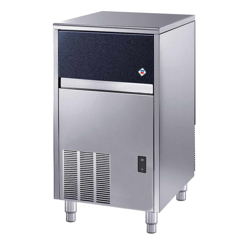 Výrobník kockového ľadu vzduchom chladený s odp. čerpadlom, 48kg/deň