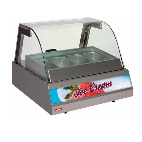 Vitrína zmrzlinová 4 x GN-KENTUCKY ICE CREAM