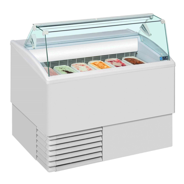 Vitrína zmrzlinová 6 x GN-ISETTA-6R-STD