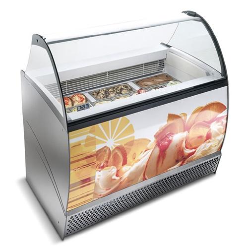 Vitrína zmrzlinová 10 x GN-ISABELLA LX-140