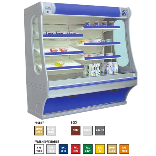 Regál chladiaci 1000-Rch-1/B