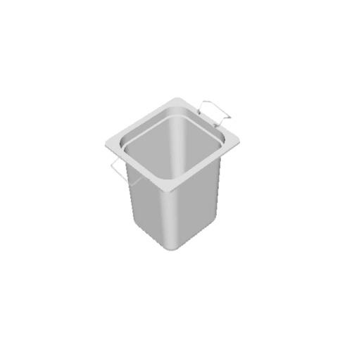 Gastronádoba s držadlami, GN1/6 - 200
