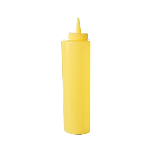 Fľaša na polevu žltá