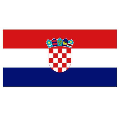 Vlajka Chorvátsko