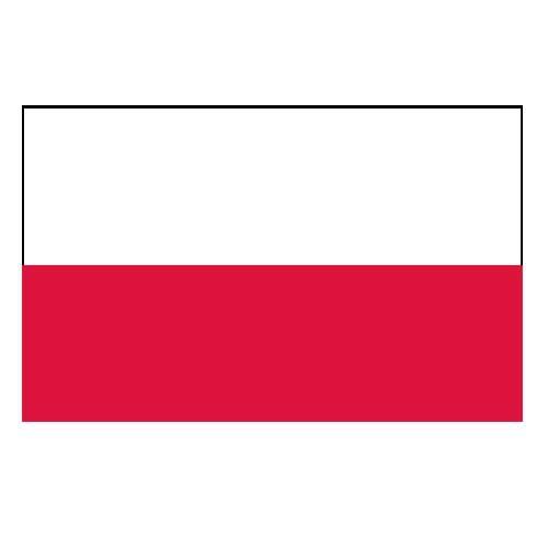 Vlajka Poľsko
