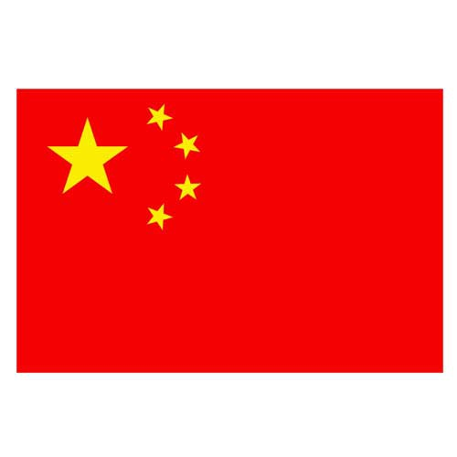 Vlajka Čína