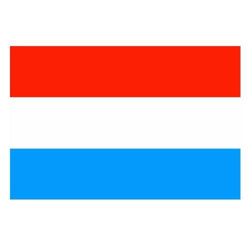 Vlajka Luxembursko