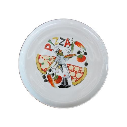 Tanier pizza 30 dekorovaný