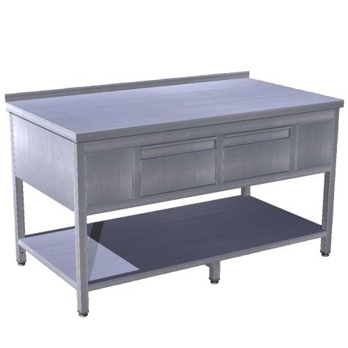 Stôl pracovný so zásuvkami 1400x700