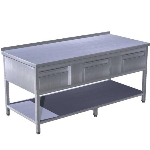 Stôl pracovný so zásuvkami 1600x700