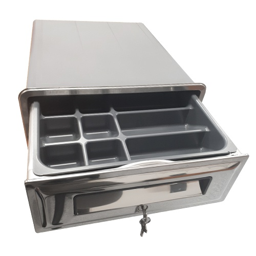 Zásuvka pokladničná so zámkom Ronda, AP-2812