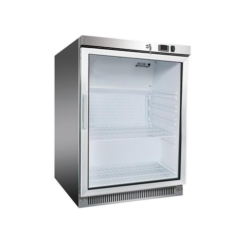 Chladnička nerezová statická 130 l, DR-200GS